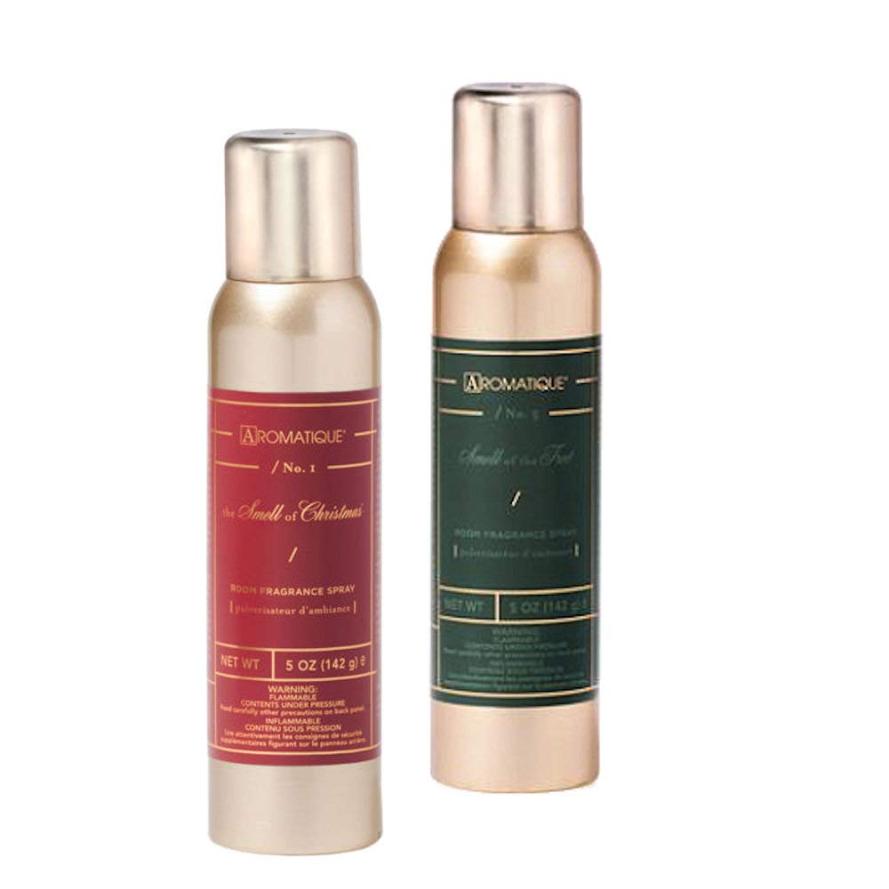Aromatique Two (2) 5 Oz Holiday Fragrance Sprays - The Smell of Christmas and Smell of The Tree