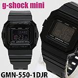 G-SHOCK mini ジーショックミニ  レディース 腕時計  GMN-550-1DJR  ブラック  アナログ時計 デジタル時計  CASIO カシオ  メンズ レディース ユニセックス