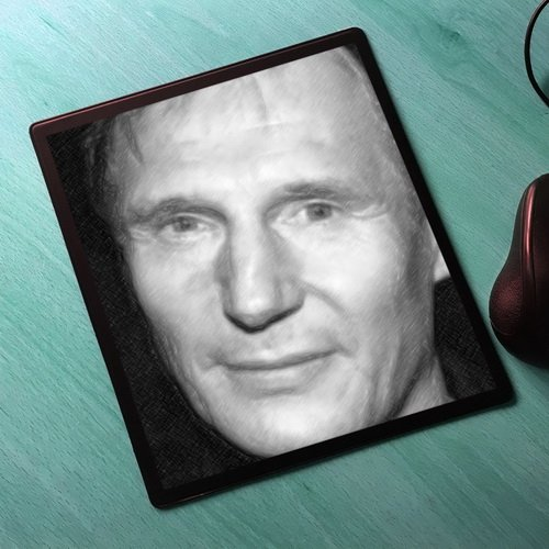 Seasons Liam Neeson - Original Art Mouse Mat #js001
