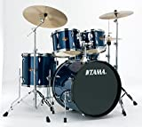 Tama IP52KCMNB Imperialstar 5-Piece Complete Drum Kit with 22' Bass Drum & Hardware, Cymbals -...