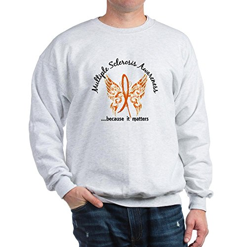CafePress MS Butterfly 6.1 Classic Crew Neck Sweatshirt ()