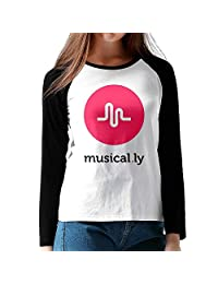 Musical Ly Baseball Tees Long Sleeve Shirts