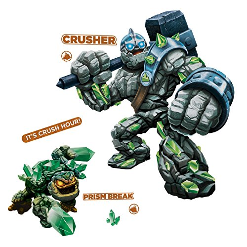 RoomMates RMK2287GM  Skylanders Giants Crusher and Prism Break Peel and Stick Giant Wall Decals