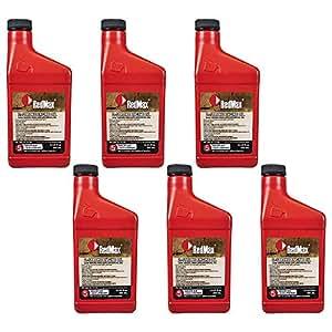 Redmax OEM Maxlife 2Ciclos aceite pico, 6unidades 50: 15gallon Mix 580357204