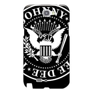 Samsung Galaxy Note 2 Qzn22724OoZy Support Personal Customs Trendy Ramones Skin Shock Absorbent Cell-phone Hard Covers -JamieBratt