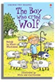The Boy Who Cried Wolf (Usborne First Reading)