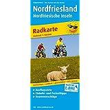 Nordfriesland und Nordfriesische Inseln: Radwanderkarte mit Ausflugszielen, Einkehr- & Freizeittipps, wetterfest, reissfest, abwischbar, GPS-genau. 1:100000 (Radkarte / RK)