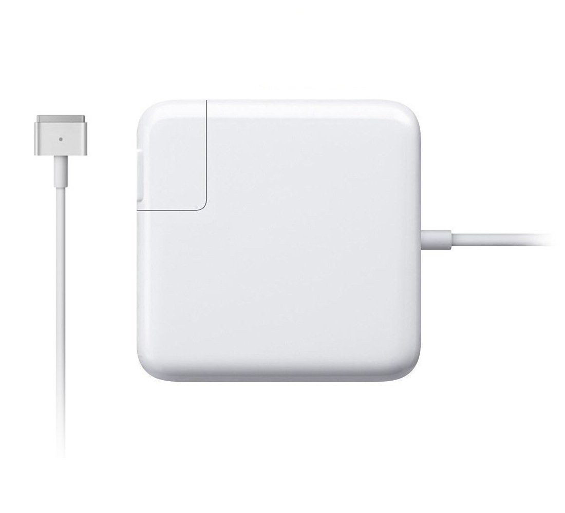Macbook Pro Charger, Replacement MacBook Charger 60W Magsafe 2 Magnetic T-Tip Power Adapter Charger for Macbook Pro with 13-inch Retina display - After Late 2012