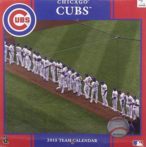 Chicago Cubs 2015 Team Calendar