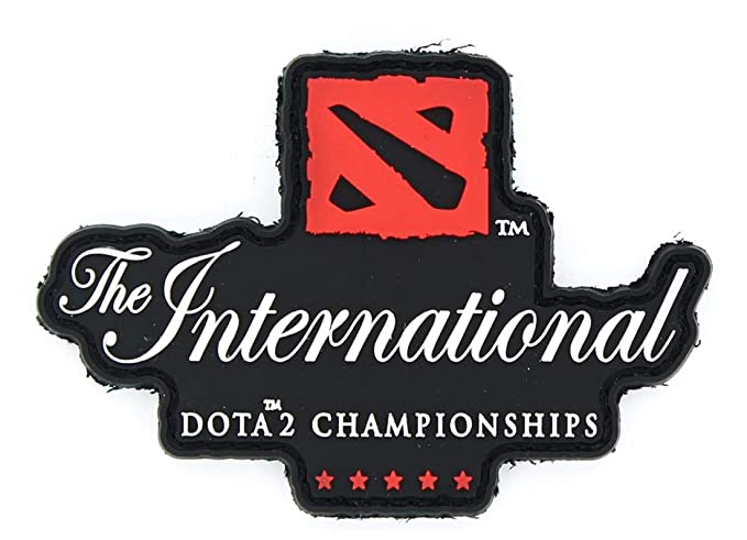 Amazon com: DOTA 2 The International Championships Patch Black: Clothing