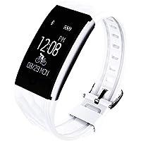 Relógio Digital Smartwatch Monitor Cardíaco e Sono - Android & iPhone - IP67 À Prova D' Água - AWEI H1 (Branco)