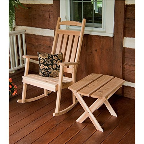 A & L FURNITURE CO. Western Red Cedar Classic Porch Rocker