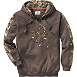 Legendary Whitetails Men's Outfitter Hoodie Brown Large
