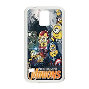 Samsung Galaxy S5 Cell Phone Case White Minions PosterL1079179