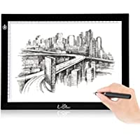 A4 Light Box - LitEnergy 9x12 Inch Light Panel Ultra-thin Only 5mm USB Power Light Table for Tracing