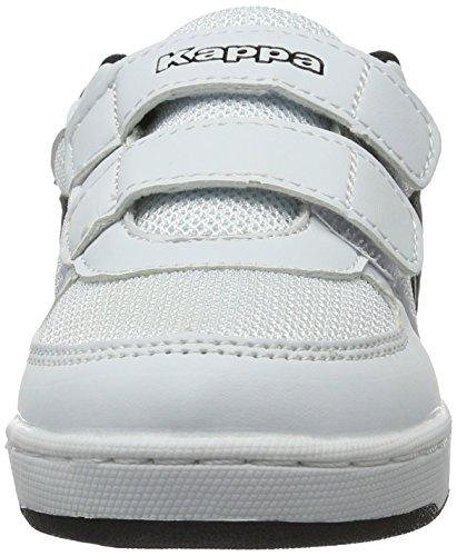 Kappa Unisex-Kinder Trooper Light Sun Kids Low-Top Weiß (1011 White/Black)