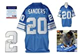 Barry Sanders Signed Jersey - Witness - PSA/DNA Certified - Autographed NFL Jerseys