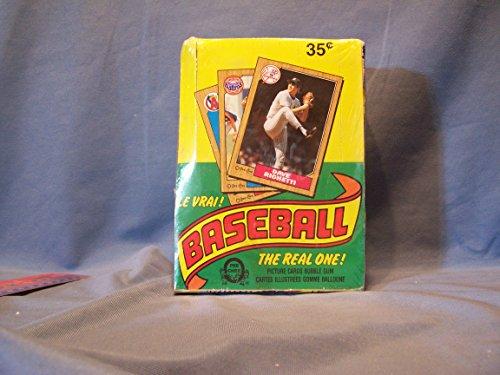 1987 O-pee-chee Baseball Box 36 Packs