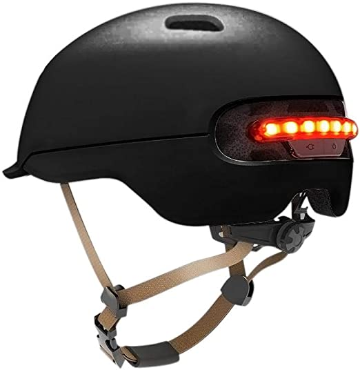 youngfate Bike Helmet Fire Smart Helmet Rear con Day Night IPX4 ...