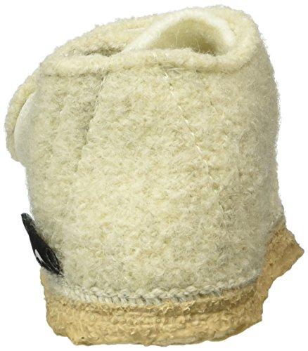NangaStern - Zapatillas de casa Bebé-Niños Blanco - Weiß (winterweiß / 11)