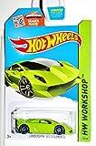 (US) Hot Wheels 2015 HW Workshop Lamborghini Sesto Elemento 198/250, Lime Green