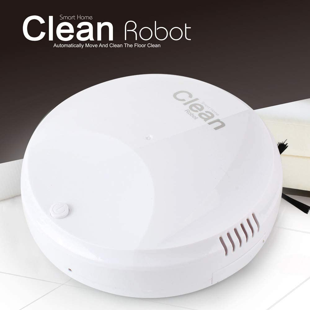 Mumuj Robot aspirador Inteligente Mini Aspirador USB Limpiador ...