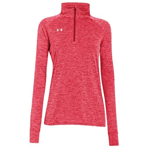 Under Armour UA Sideline Twisted Tech 1/4 Zip, Red, XX-Large ()