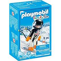 PLAYMOBIL Skier Figure Building Set
