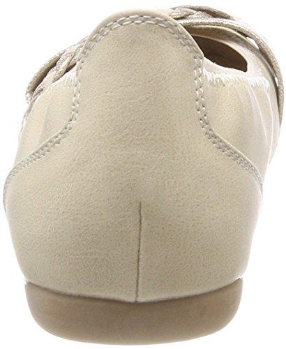 Marco Tozzi Damen 22126 Geschlossene Ballerinas Beige (Dune Comb)
