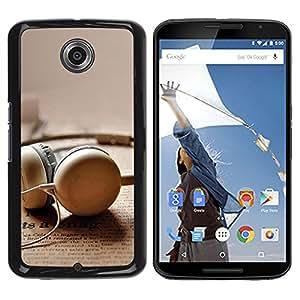 Paccase / SLIM PC / Aliminium Casa Carcasa Funda Case Cover - Earplug - Motorola NEXUS 6 / X / Moto X Pro