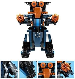 Tellaboull 349pcs M2 4CH Remote Control DIY Building Blocks Robert Robot Giocattoli Mattoni creativi con 360 ° Ruota in Situ per i bambini regalo
