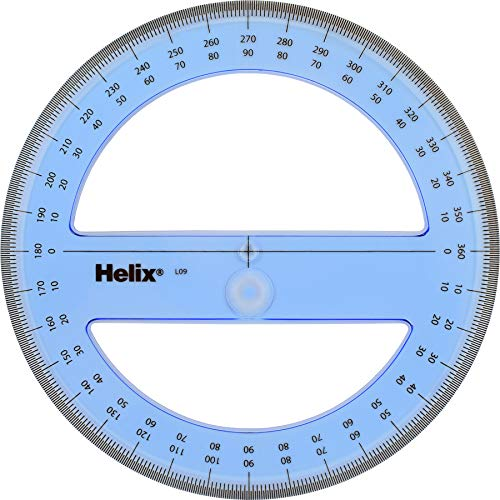 Helix 360 Degree Professional Protractor 6 Inch (12091)