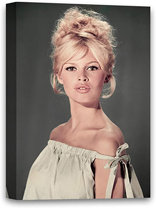 Hollywood Celebrity Art Photo Poster BRIGITTE BARDOT 24 inch by 36 inch G