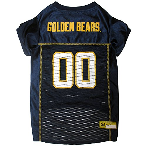Pets First Collegiate California Golden Bears Berkeley Dog Mesh Jersey, (Berkeley Jersey)