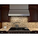 zephyr tempest ii - Zephyr AK7542B 650 CFM 42 Inch Wide Under Cabinet Range Hood from the Tempest II, Stainless Steel