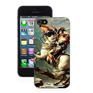 Napoleon Crossing the Alps - iPhone 4/4s Glossy Black Case