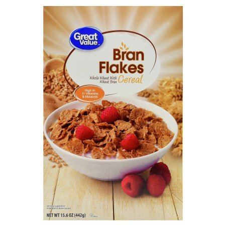 amazon com pack of 10 great value bran flakes cereal 15 6 oz