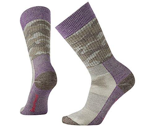 SmartWool Women's Hunt Camo Medium Crew Socks (Bordeaux) Small ()