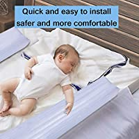 per Parachoques Hinchables para Cunas Bebés Barrera Inflable de Protección Barra de Parachoques Cama Antideslizantes Protectores Anti-caidas de Cama ...