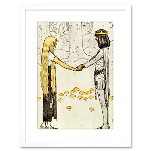 Painting Prince Without Shadow John Bauer Framed Wall Art Printの商品画像