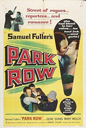 Leave Row POSTER Movie (1952) Style A 27 x 40 Inches - 69cm x 102cm (Gene Evans)(Mary Welch)(Bela Kovacs)(Herbert Heyes)(Tina Pine)(George O'Hanlon)