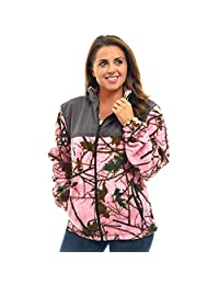 TrailCrest Womens Fleece Wind Jacket