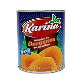 Karina Durazno Mitades De 820 gr