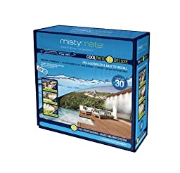 MistyMate 16011 Cool Patio 10 Deluxe Outdoor Misting Kit