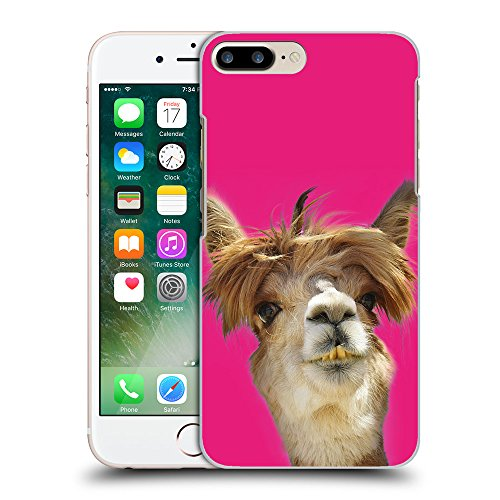 GoGoMobile Coque de Protection TPU Silicone Case pour // Q05560616 alpaga Bright Pink // Apple iPhone 7 PLUS