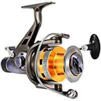 BluFied Spinning Fishing Reel with Front and Rear Double...