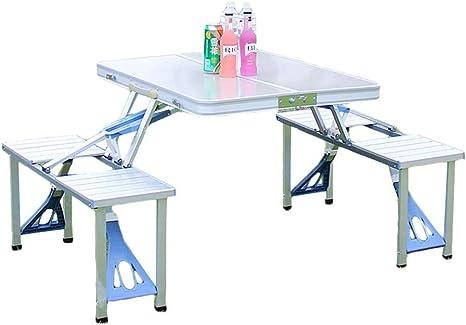 Tavolini Da Campeggio Pieghevoli Con Sedie.Czxxh Alluminio Tavolo Da Campeggio Pieghevole Tavolino Da