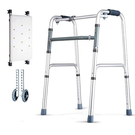 Lxn Andador Plegable estándar de Plata para Adultos ...