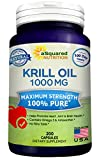 Best Krill Oils - Pure Krill Oil 1000mg w/ Astaxanthin & Omega Review