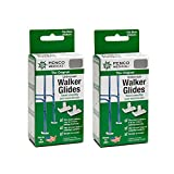 Penco Medical Universal Walker Glides - Silver Gray 2 Pairs